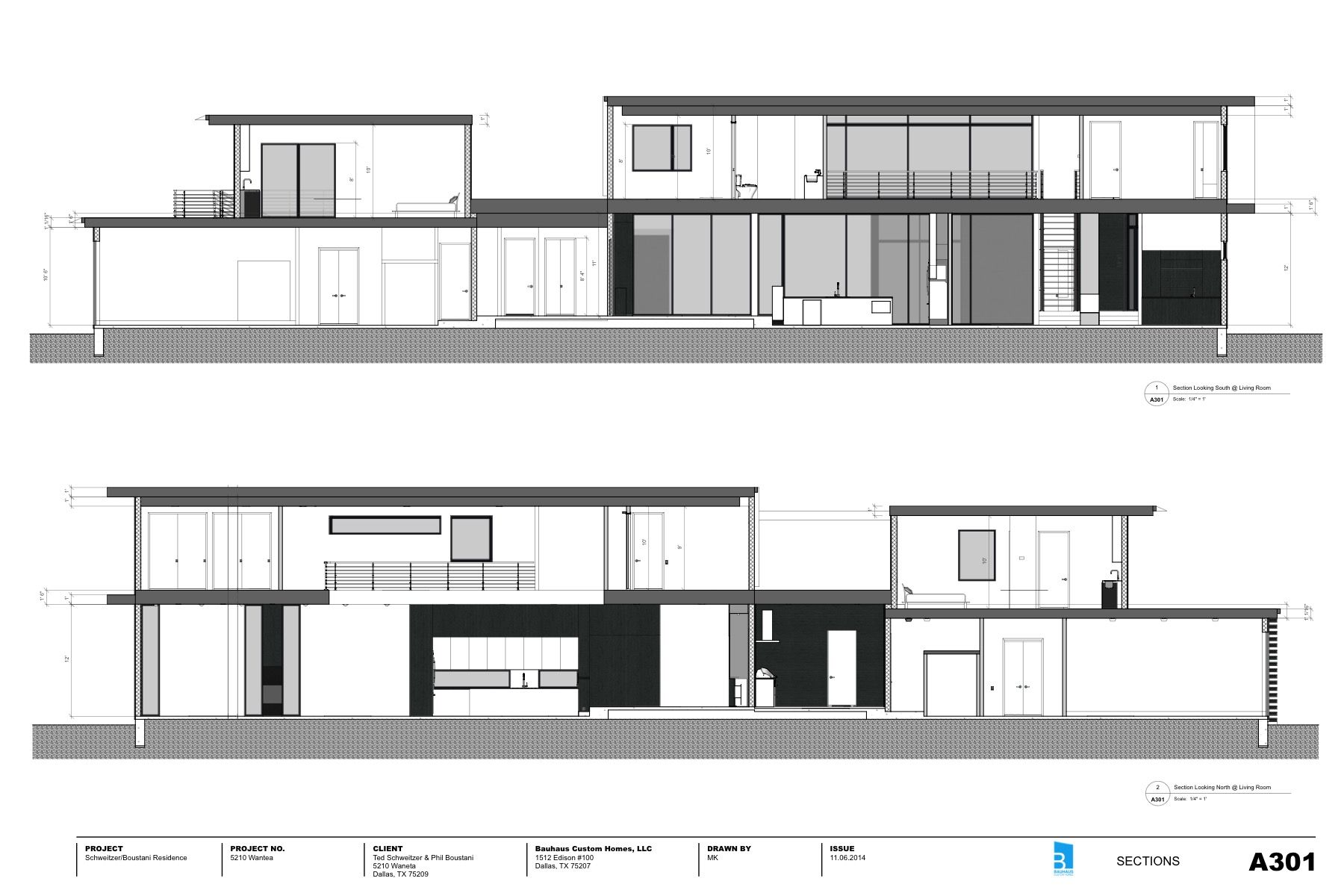 sections created with skalp for sketchup project by bauhaus sections created with skalp for sketchup project by bauhaus custom homes