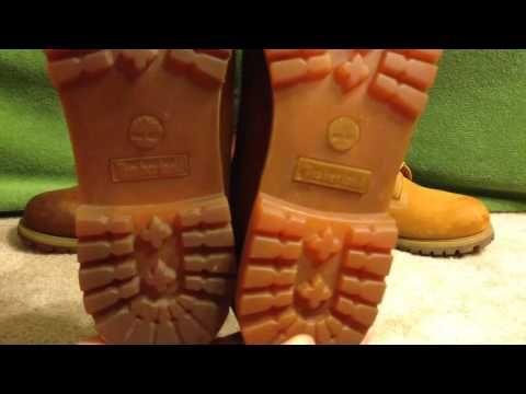 DIY Custom All Red Timberlands - YouTube  2b097b5cf7