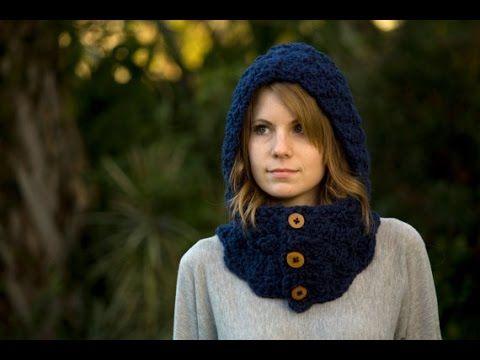 Bufanda capucha a crochet paso a paso Nº 2 - YouTube | Dance ...