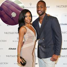 Miami Heat star Dwayne Wade proposed to longtime girlfriend