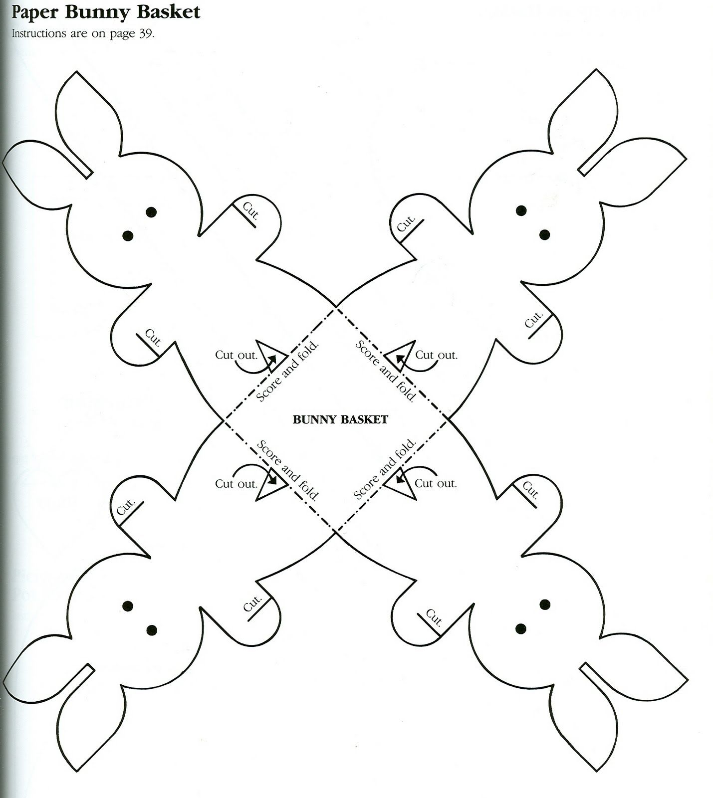 Tekspotlight Documents Easter Bunny Templates For Kids
