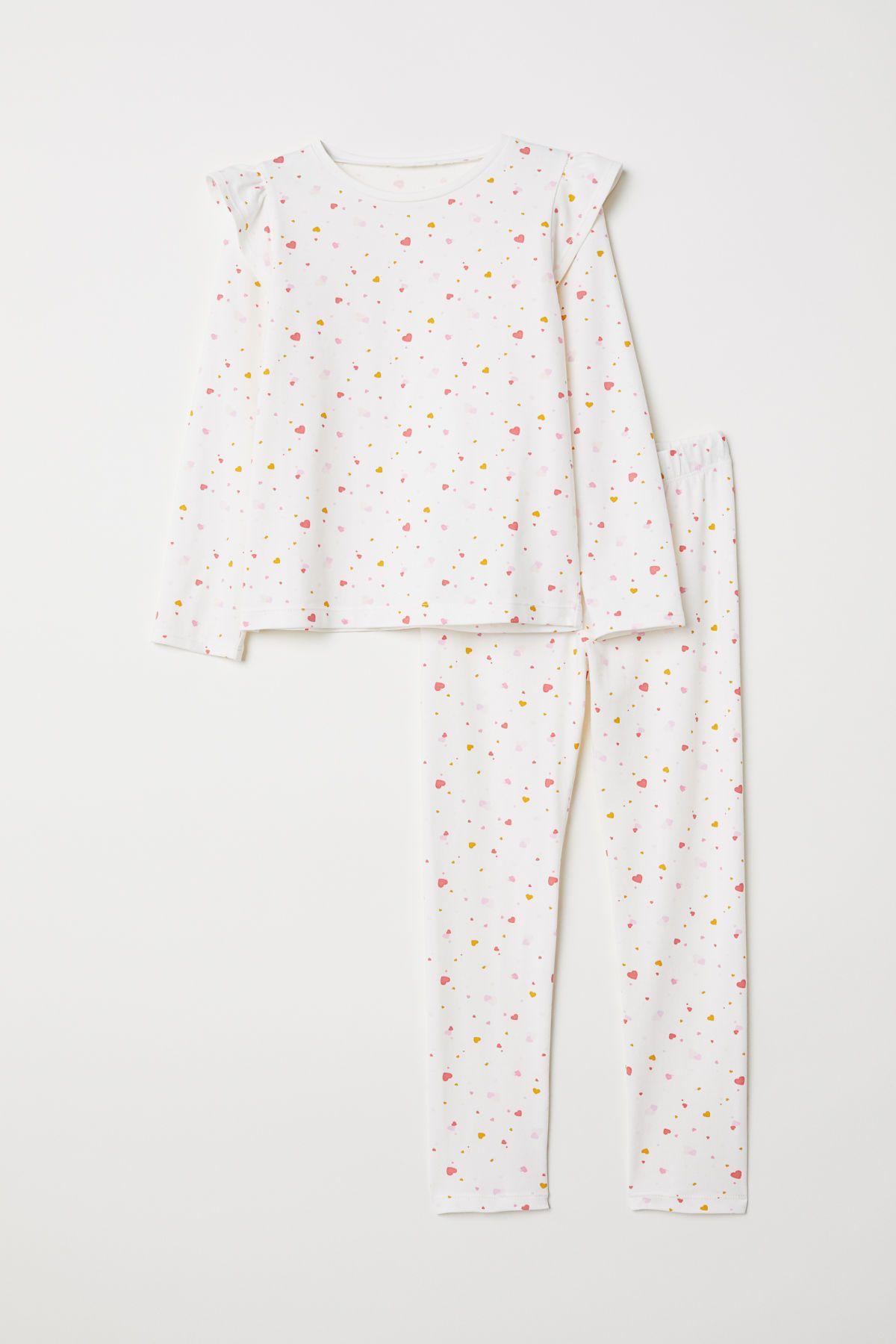 more photos 7cf74 2d208 Jerseypyjama   Kids Style Queenie   Schlafanzug, Leggings ...