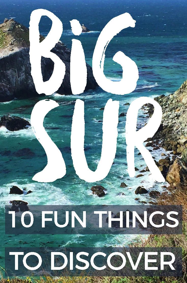 !0 THINGS TO DO IN BIG SUR : The remote beauty of Big Sur has inspired many musicians, artists, filmmakers, dreamers and writers.  #bigsur #california  #roadtrip