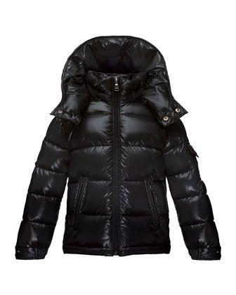 3a56ce58e1ba Maya+Matte+Zip-Front+Puffer+Coat