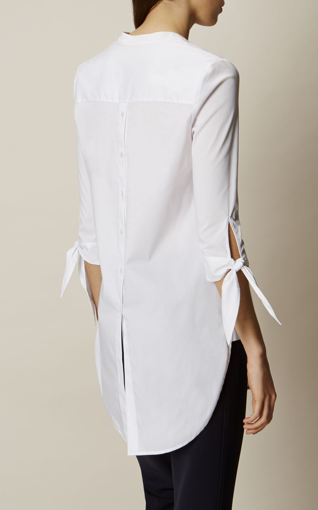 11f1c3ad9 Karen Millen, THE OVERSIZED SHIRT White | Clothing | Oversized shirt ...