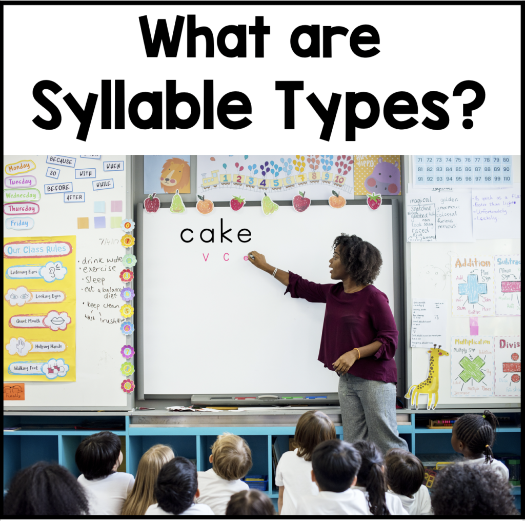 Syllable Types In
