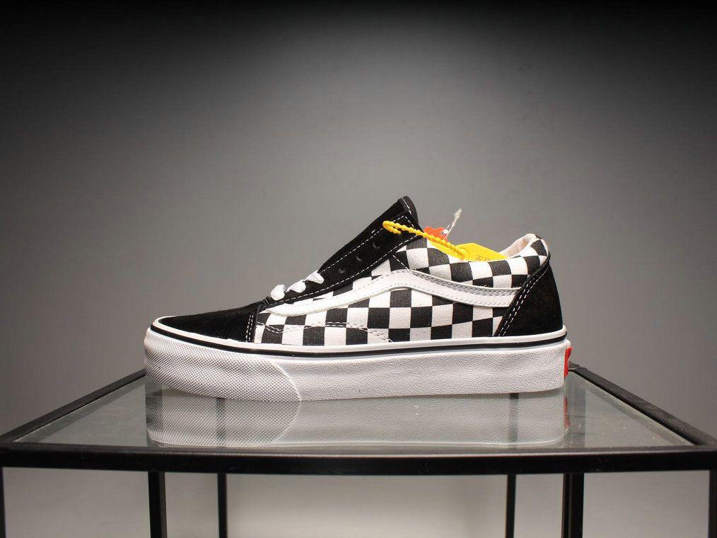8fa8c7f421 Retailmenot Coupon Vans Classic Old Skool CD40 Black White Checkerboard Skate  Shoe Vans For  Vans
