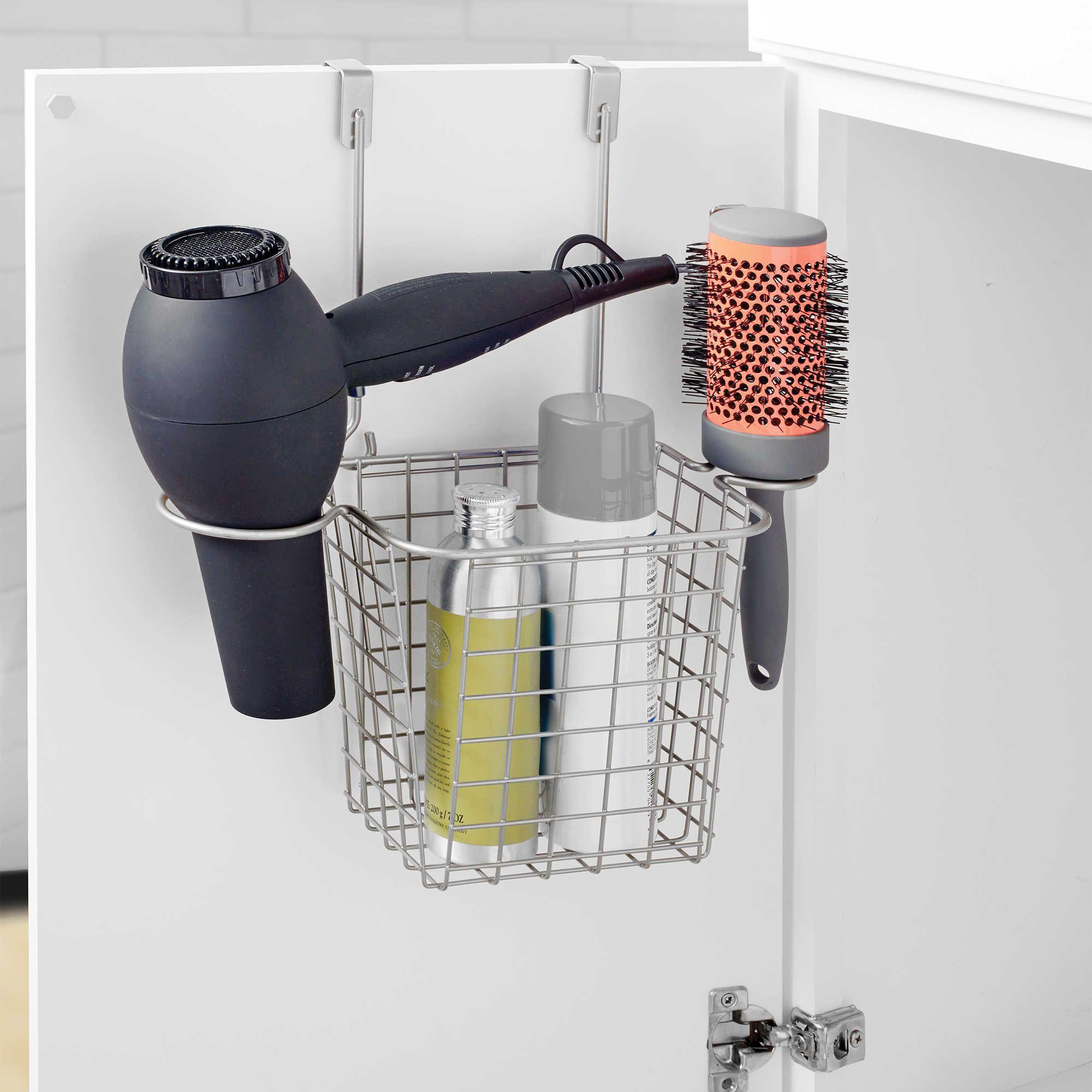 Org Grid Over The Door Styling Caddy Bathroom Essentials Shower Storage Over The Door Organizer