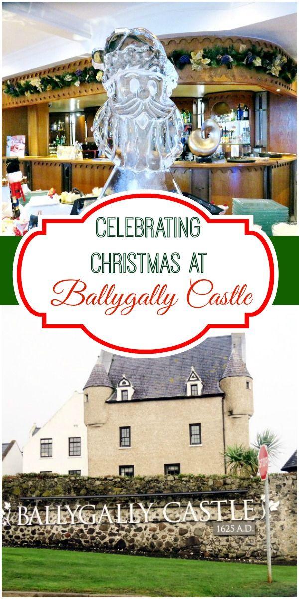 Christmas at Ballygally Castle Hotel Northern Ireland