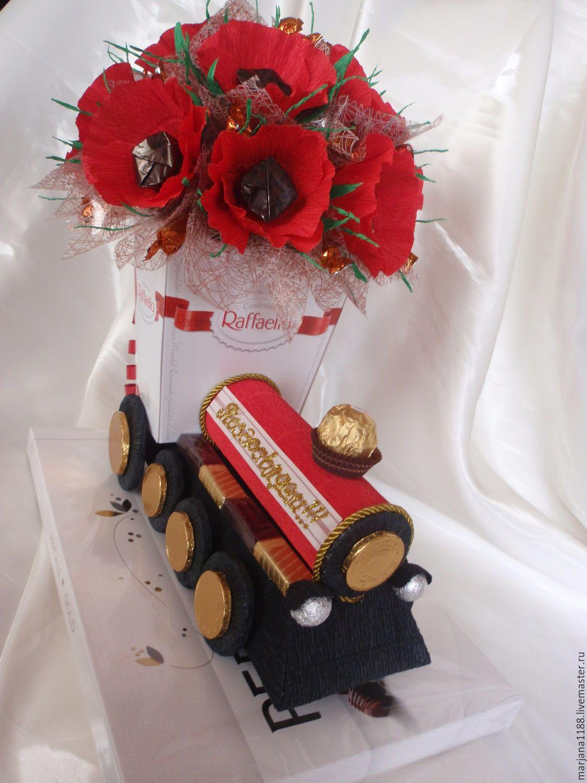 букеты из конфет для мужчины на день рождения называют городом