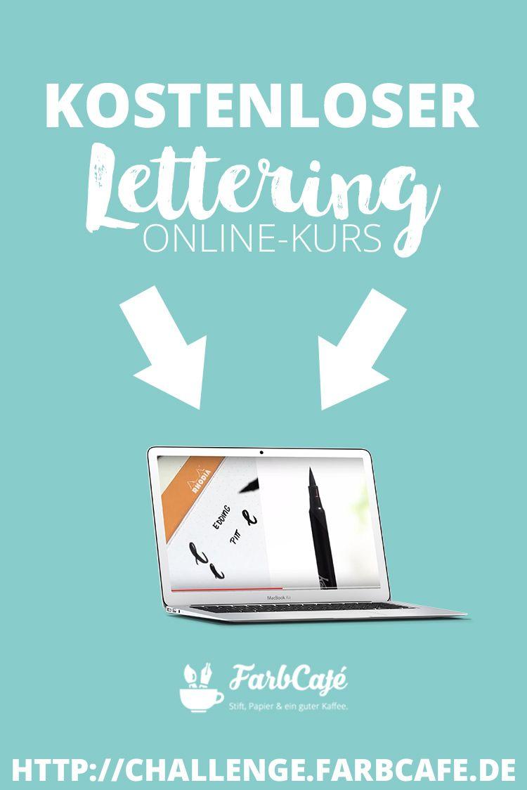 Kostenloser Lettering OnlineKurs Lettering, Schöne