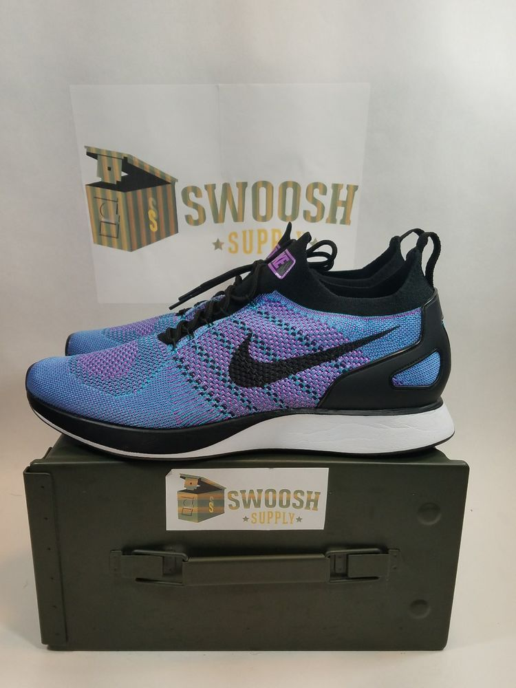 2e2ffeee81f64 Nike Air Zoom Mariah Flyknit Racer Bright Violet Black Men s Size 13 918264  500  Nike  AthleticSneakers