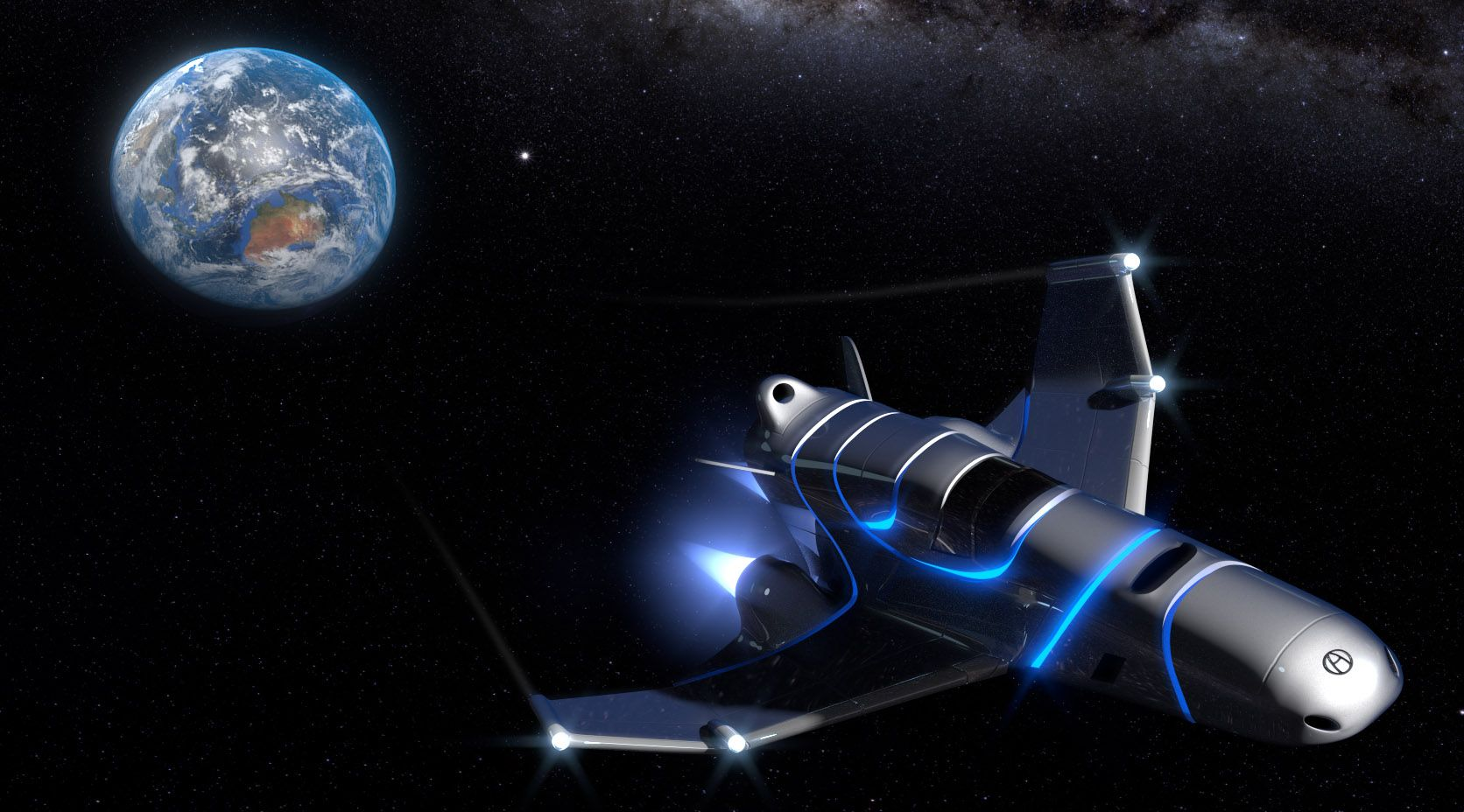 Create a Spaceship - Part 1 of 2 | Blender tutorial, Blender