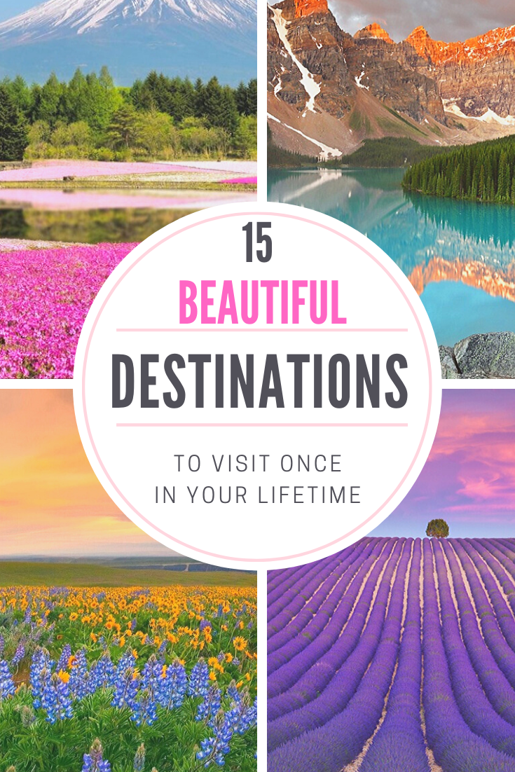 , 15 Beautiful Destinations To Visit Once In Your Lifetime – #beautiful #destinations #lifetime #visit – #New, Travel Couple, Travel Couple