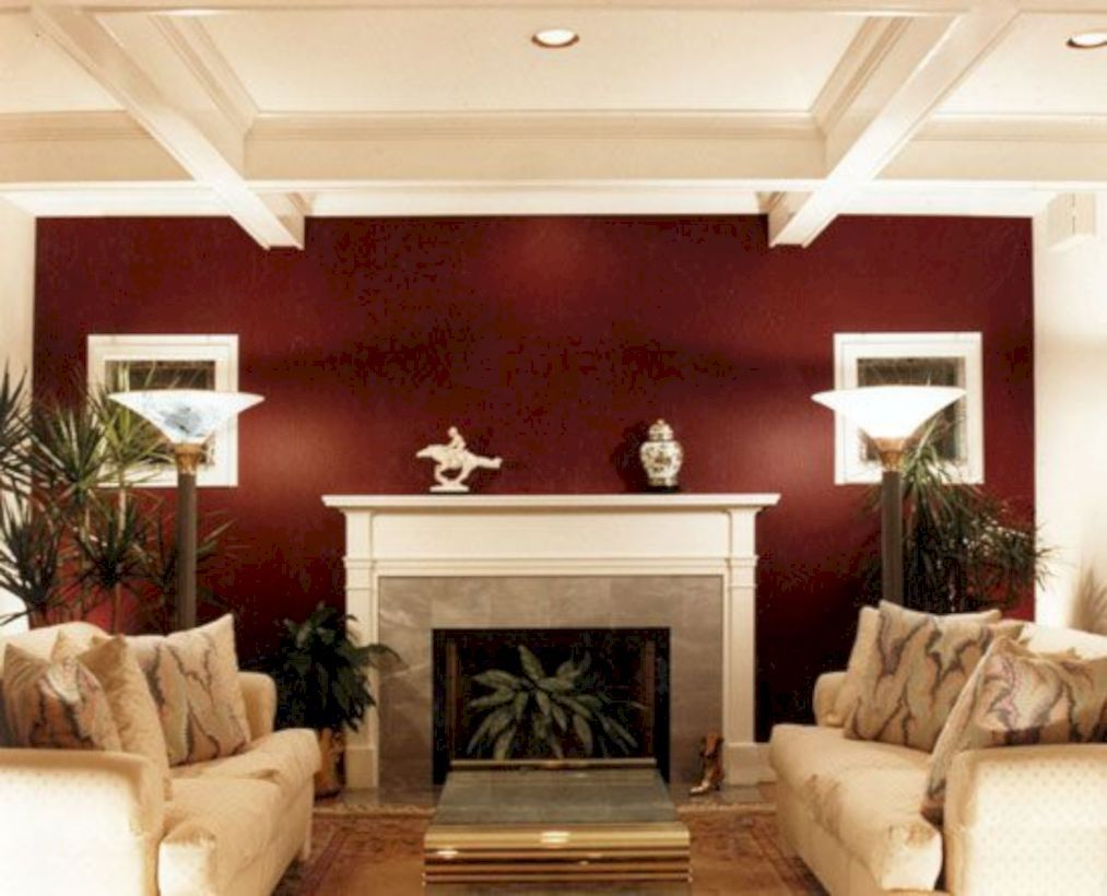 40 Inspiring Chinese Living Room Decoration Ideas Home Decor Ideas Accent Walls In Living Room Living Room Colors Maroon Living Room Burgundy living room walls