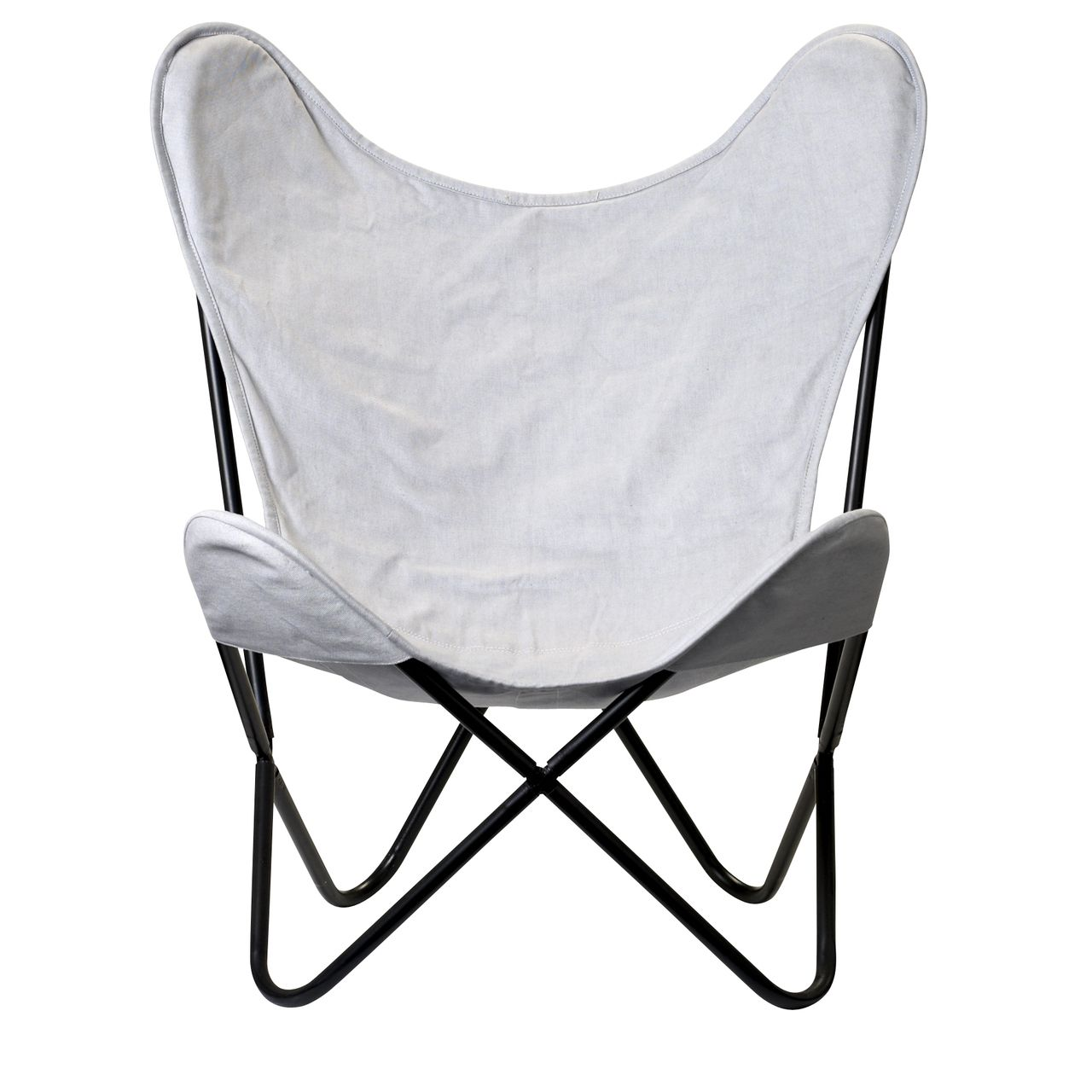 Bloomingville Butterfly Chair Grey Butterfly Chair Stylish Chairs Grey Chair