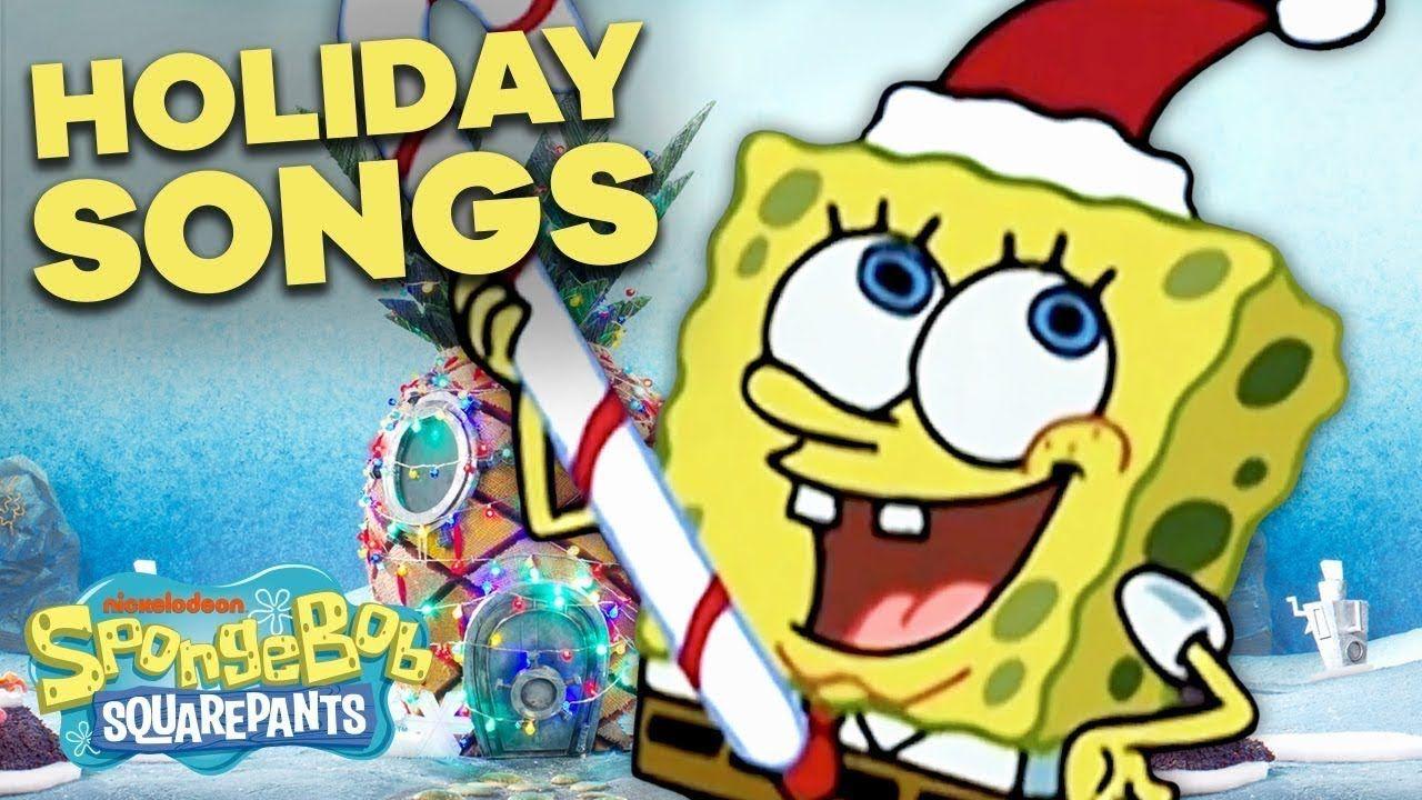 Top 5 SpongeBob Christmas Songs 🎄 YouTube in 2020