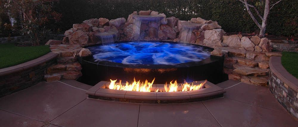 in ground jacuzzi - Google Search | Yard and garden | Pinterest ...