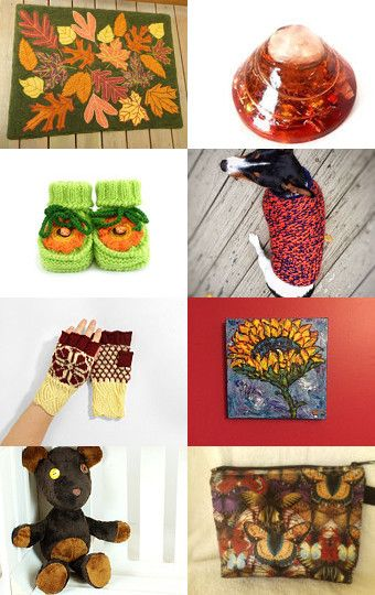Autumn Calling by Pauline McEwen on Etsy--Pinned with TreasuryPin.com