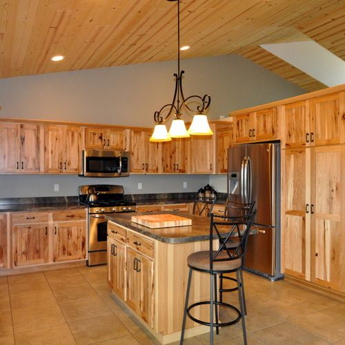Knotty Hickory Kitchen Cabinets: Knotty Hickory Cabinets Ideas, Pictures, Remodel And Decor