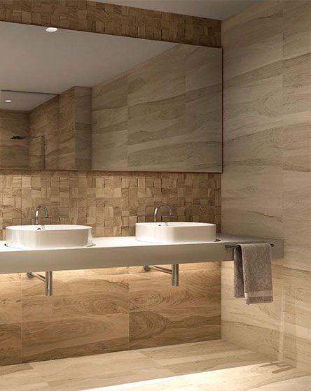 Sensacional cuadrada y minimalista fachadas for Disenos de banos completos