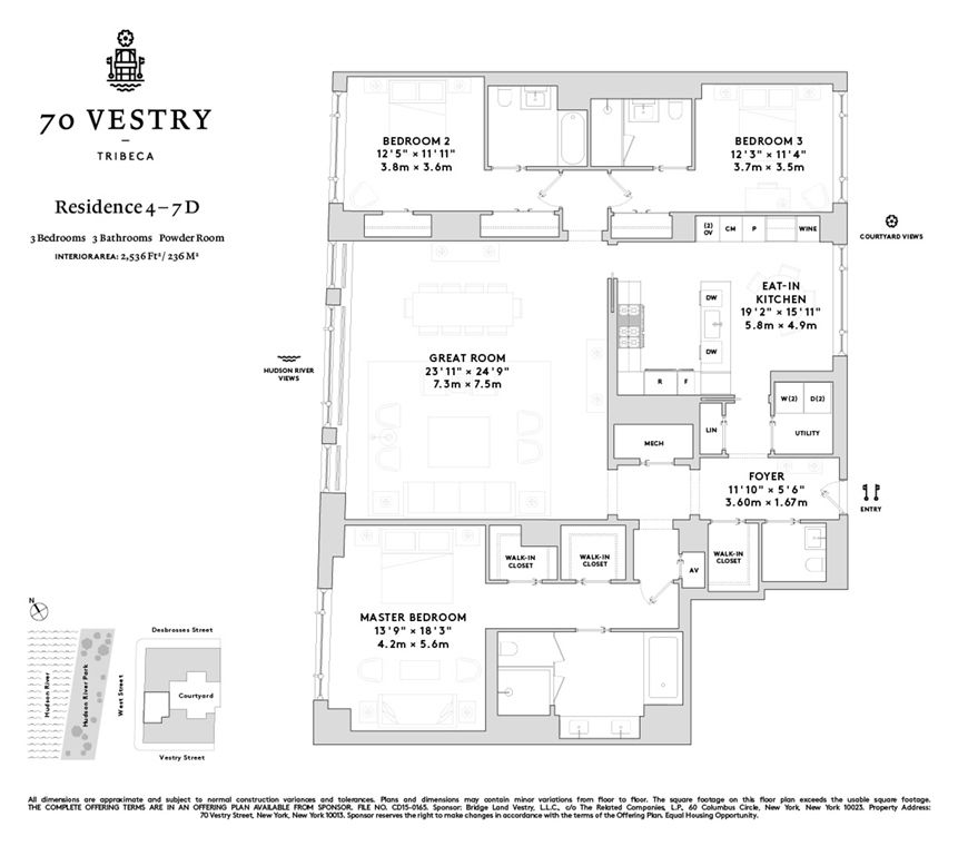 70 Vestry 4D in Tribeca Manhattan StreetEasy