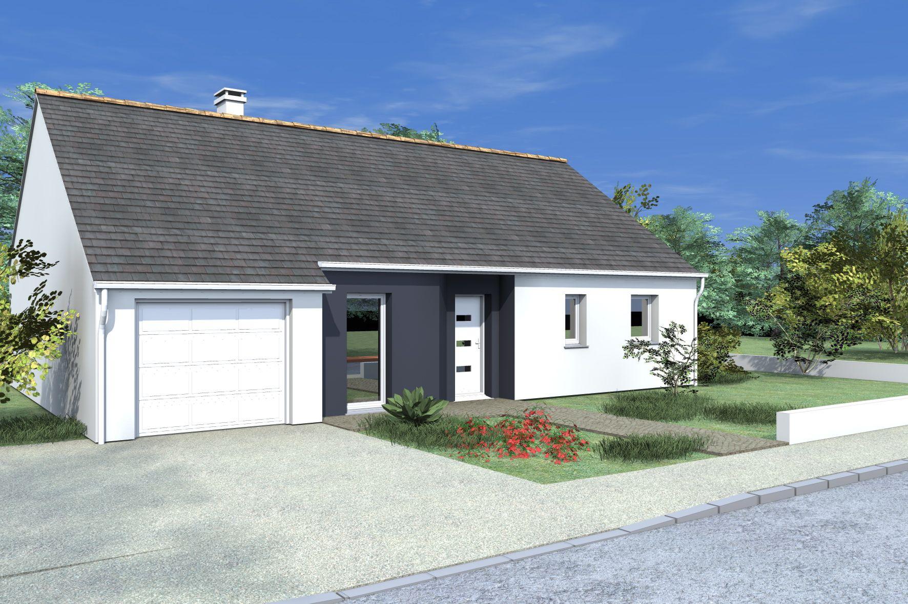 Ide maison plain pied great affordable charmant plan de - Maison plain pied deco orientale palm springs ...