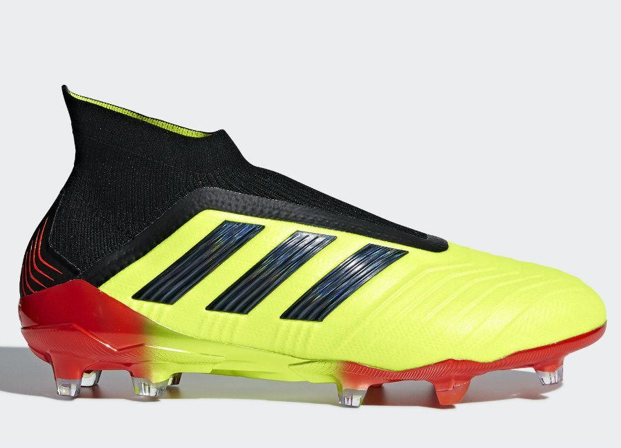 pretty nice fa9de c2989 football soccer futbol adidasfootball footballboots Adidas Paul Pogba  Predator 18+ Fg Energy Mode - Solar Yellow  Core Black  Solar…