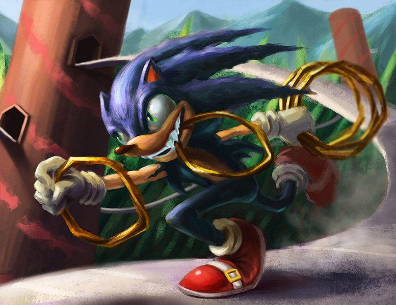 Artstation Sonic Le Hedgehog Feenix Fabay Personagens Filmes