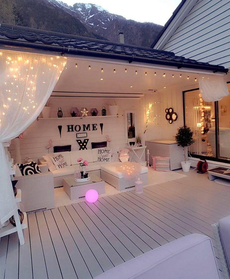 Terrasse Einrichtung Pinterest Home, House und Home Decor