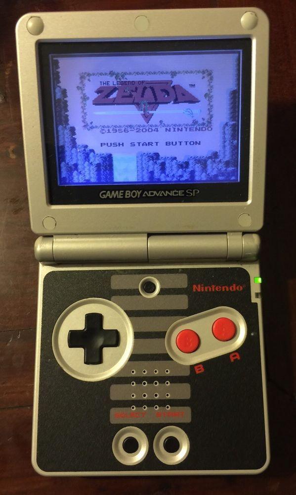 Nintendo Gameboy Advance Sp Nes Classic Edition Rare From 100 0 Nintendo Classic Nintendo Gameboy