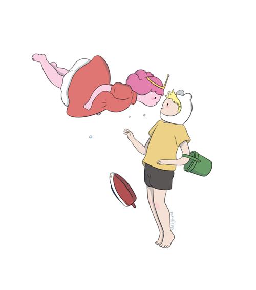 Ponio sulla scogliera