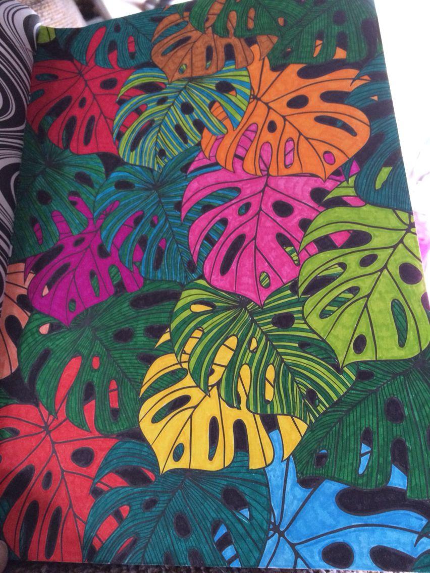 Kleurig bladerdek