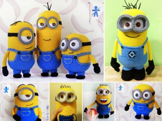 DIY Crochet Minion Projects Free Pattern Minions For All Ages Adorable Free Minion Crochet Pattern
