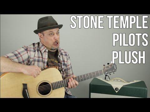 Stone Temple Pilots - Plush - Guitar Lesson - STP - YouTube   guitar ...