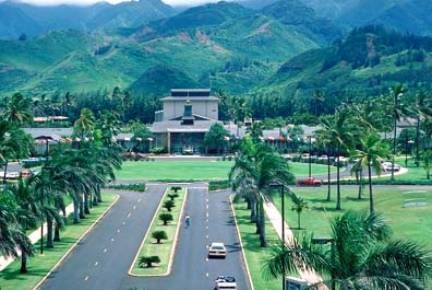 BYU Hawaii Our Jazzy Went Here For 2 Years Beautiful Campus