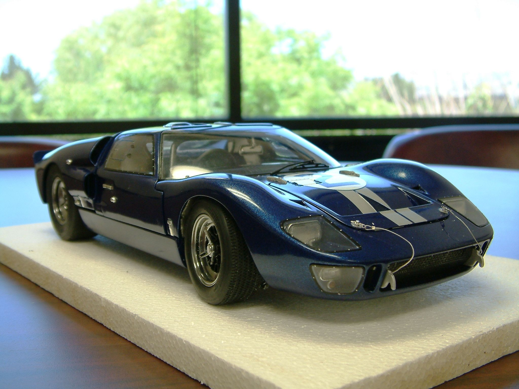 Commission Build Mike Ski Th Scale Trumpter Ford Gt  Mk Ii