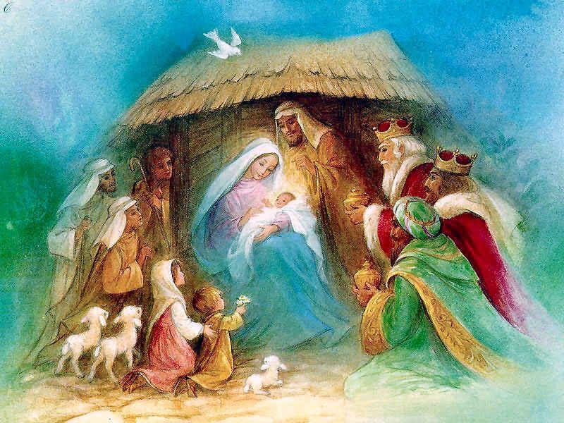 Belen, Nacimiento del Niño Jesús