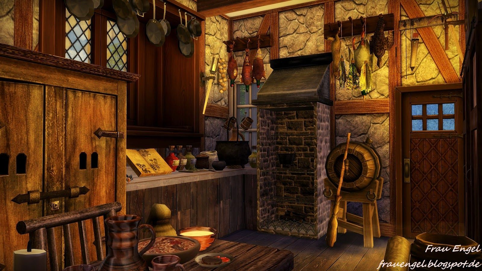 Sims 4 Cc 39 S Downloads Annett85 Annett 39 S Sims 4 Welt Sims Haus Hexenhaus Sims