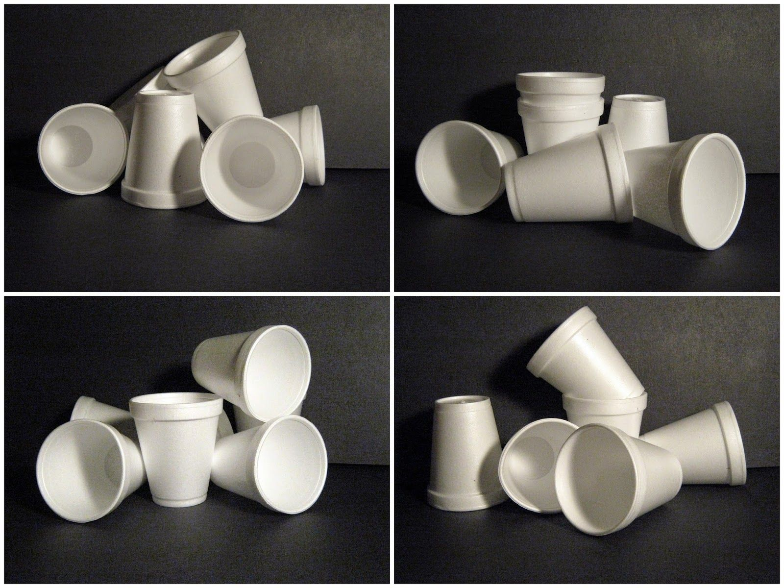 Art In The Middle Hool Not So Plain White Cups 11 20