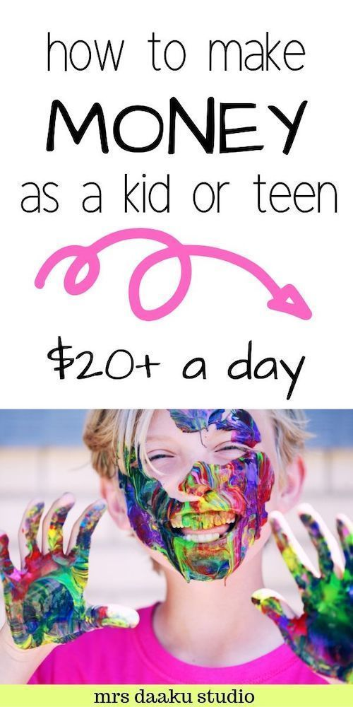 How to Make Money as a Kid – 34 Little Known Ways kids can earn money