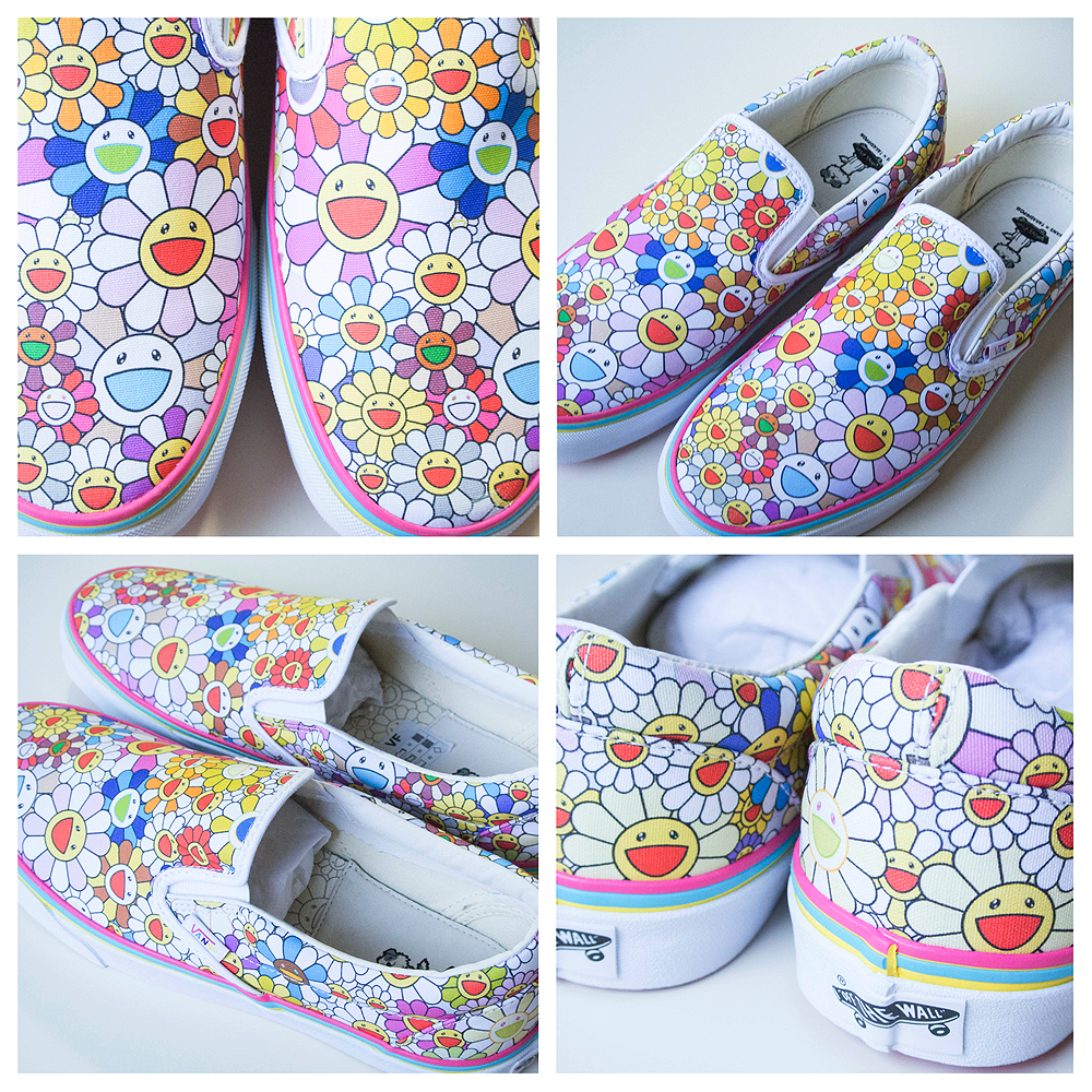 49640e31b1 Slip On Flower Multi - VAULT by VANS x Takashi Murakami (USA Mens Women  8.5 10) - Japan Lover Me Store