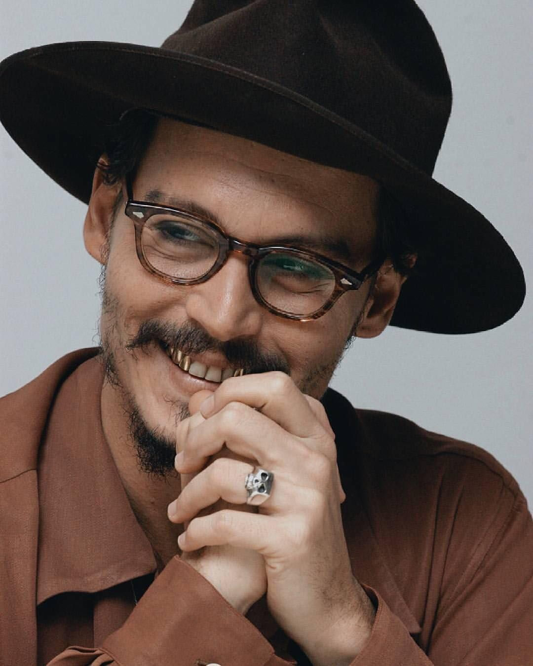Smile With . Johnny Deep Depp Devendra Banhart