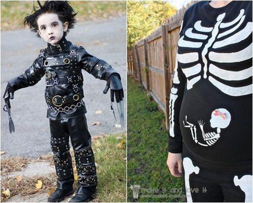 Disfraces caseros impactantes para fiesta de halloween - Disfraces bebe halloween ...