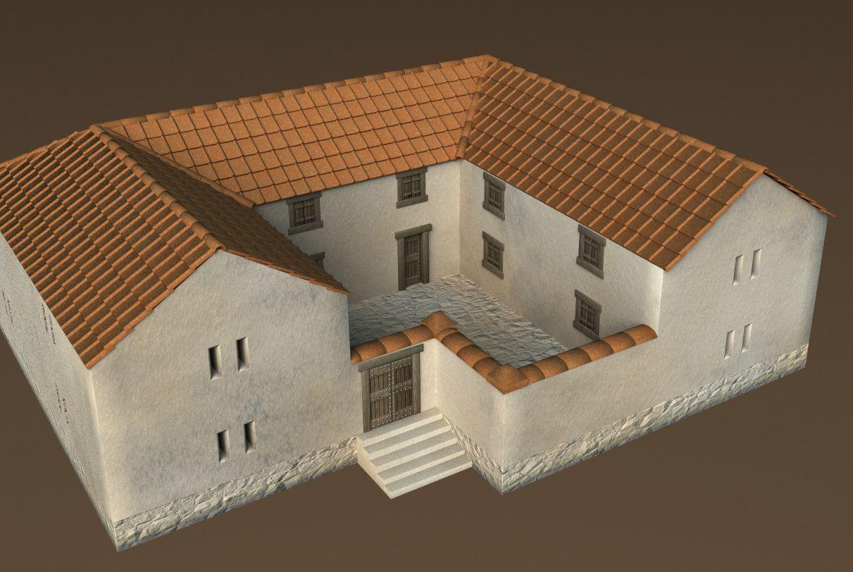 ancient housing ancient greece houses medd pinterest ancient