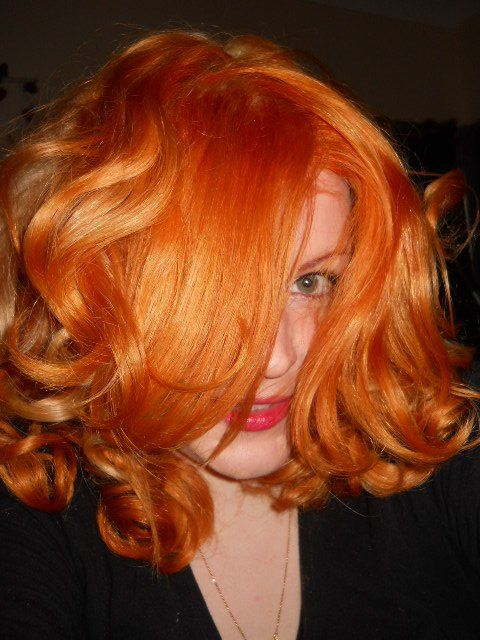 Hehe Pure Henna Powder Over Bleached Platinum Blonde Hair Hair