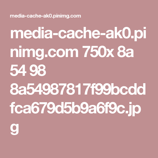 media-cache-ak0.pinimg.com 750x 8a 54 98 8a54987817f99bcddfca679d5b9a6f9c.jpg