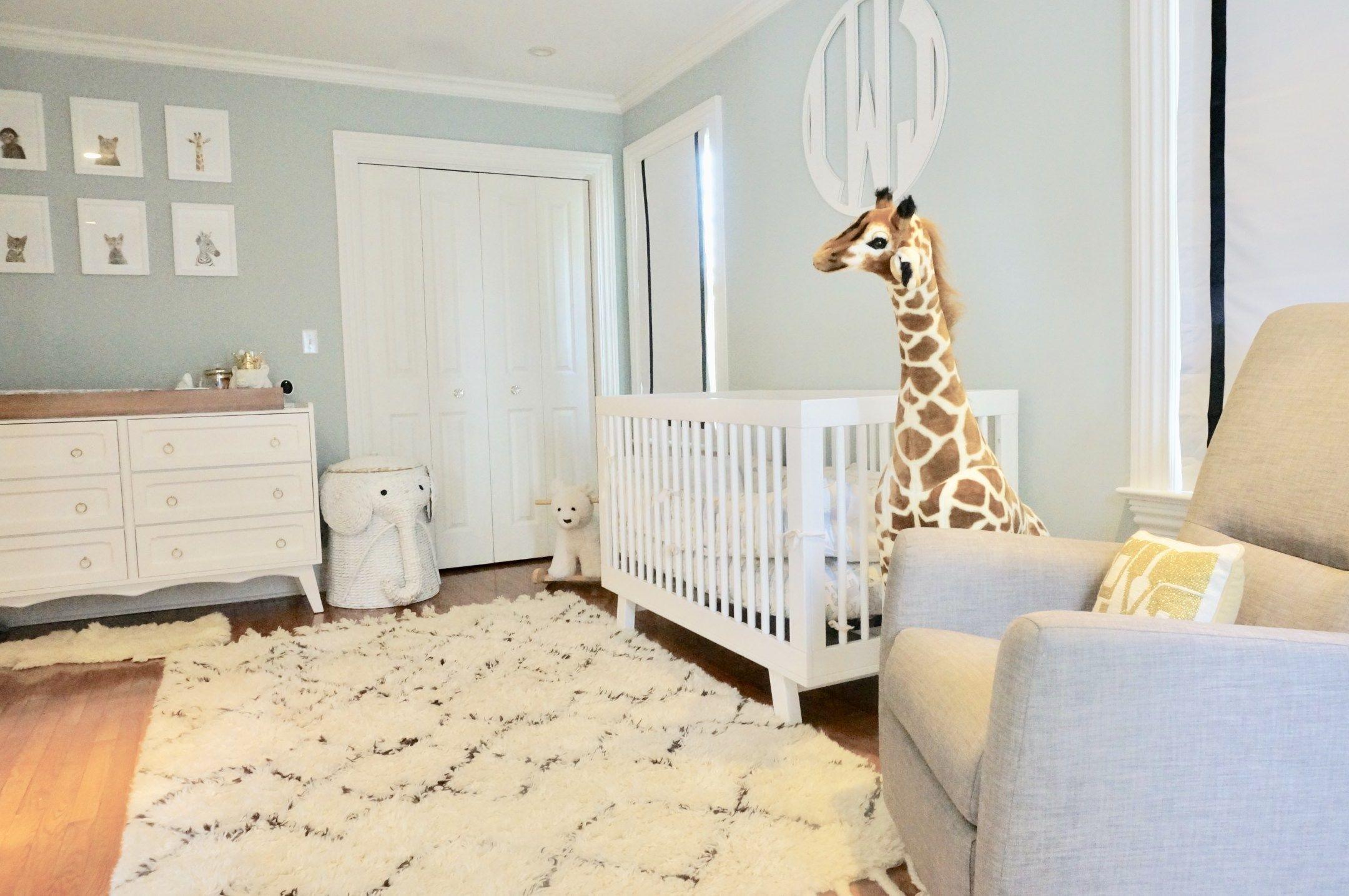 Gender Neutral Safari Nursery With