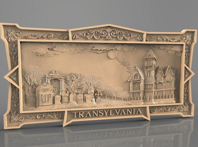 Awesome Transylvania 3d file cnc cncrouter stl artcam