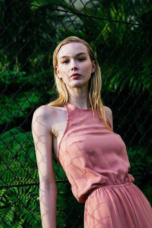 Sarah Jane Knapp, Dusky Pink Jumpsuit. Via Temper Collective